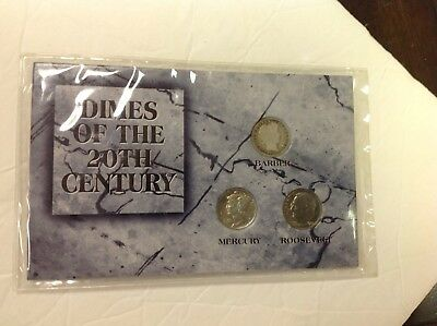 Dimes Of The 20Th Century Mercury & Barber Dimes