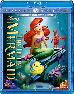 3 CENT Blu-ray - Disney's The Little Mermaid . . . *FREE Shipping on any 4*