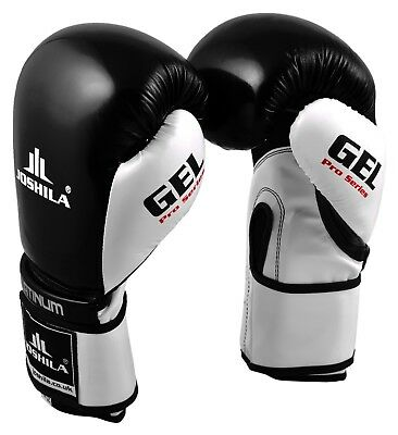 Pro Boxing Gloves Punchbag Training MMA Sparring Muay Thai Gel Mitts UFC