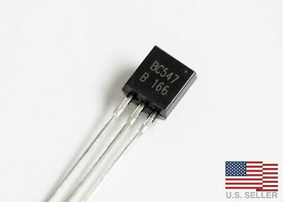 BC547B BC547 NPN Transistor TO-92 0.1A 45V - Lots of 20, 50, 100
