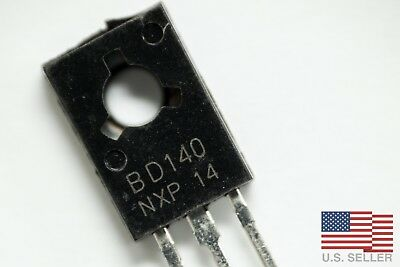 BD140 PNP Transistor TO-126 1.5A 80V - Lots of 2 to 50