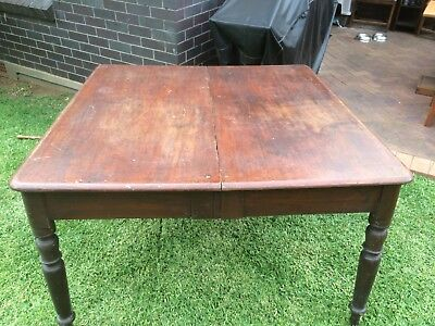antique cedar & pine table, lovely and unusual