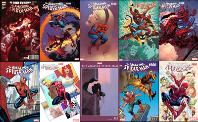 Amazing Spider-man #800 SPEC PACK! All 4 Covers! Save 23%!! 05/30/18