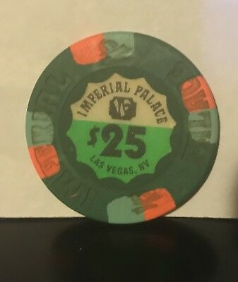 $25 IMPERIAL PALACE CASINO & Hotel Las Vegas collectible CHIP