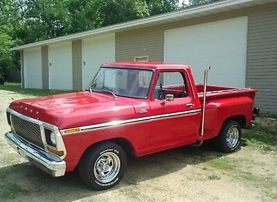 1978 Ford F-100 Custom 1978 Ford Pickup 351 V8 Automatic Custom Exhaust Great Condition