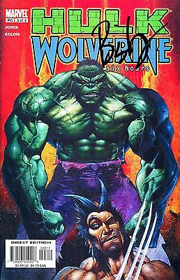 Hulk / Wolverine #3 Six Hours Signed By Artist Simon Bisley