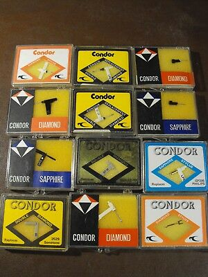 Acos, Garrard, Bsr, Sonotone Philips  Vintage Stylus Needles New Old Stock!