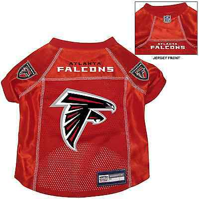 NEW ATLANTA FALCONS PET DOG PREMIUM NFL ALTERNATE JERSEY w NAME TAG ALL  SIZE RED 6930c1023