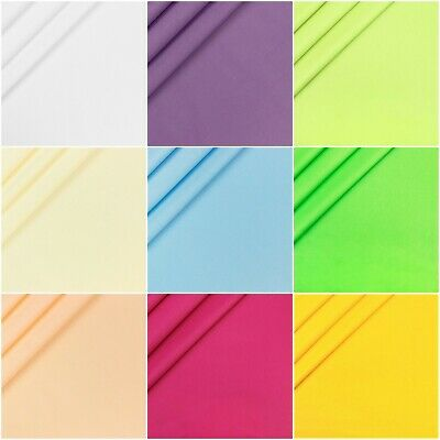 100% Cotton Plain Fabric various colours