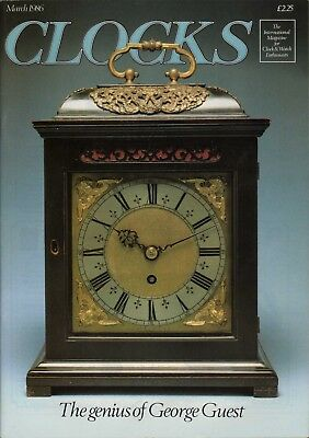 Flint Family Clockmakers, Kent. Royal Clockmakers 4. George Guest. French HL6.64