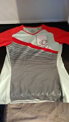 NWT Pearl Izumi 2017 18 Women s Launch Short Sleeve Cycling JerseyXS -  19221702 ba2135015