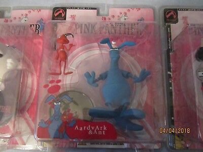 Pink Panther's Aardvark & Ant Action Figure - 2004 by Palisades Toys - SEALED