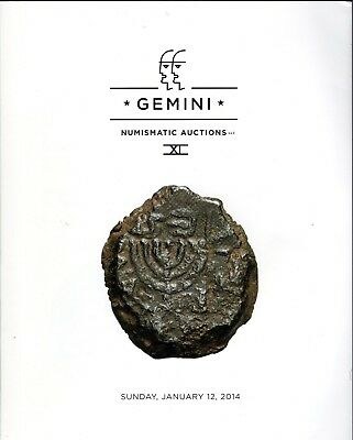 Gemini Xi Numismatic Auctions Catalogue, Ancient Coins Harlan Berk, 2014