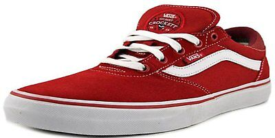 Vans GILBERT CROCKETT Pro (POMPEIAN RED WHITE) Mens Skate Shoes 7 WOMENS 8.5 6f62b61de2