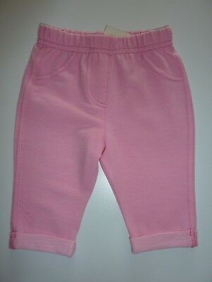 Little Girls Pink Jeggings Size 0-3 Months NWT
