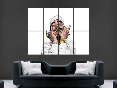 POST MALONE POSTER USA RAPPER ART WALL LARGE IMAGE GIANT