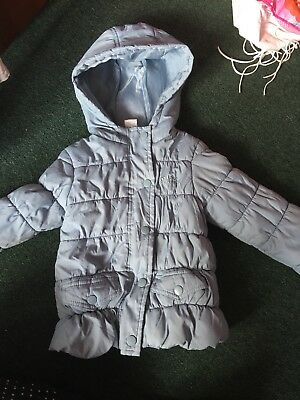Girls French La Redoute Coat Age 4 Years
