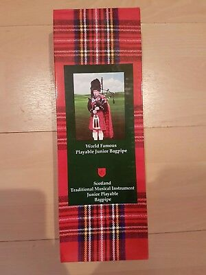 brand new boxed junior bagpipe