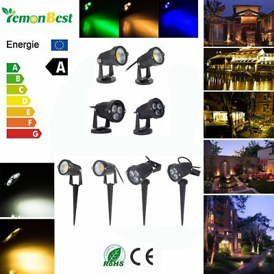3W 5W 9W COB LED Landscape Garden Yard Flood Spot Light Waterproof Outdoor Decor