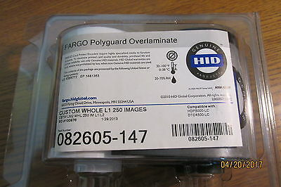 New FARGO 82605-147 Polyguard Overlaminate for HDP 5000, 8500 and DTC4500 250IM