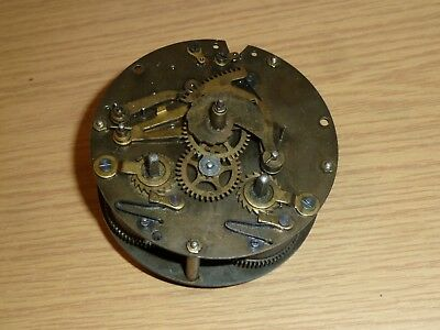 Vintage German HAC striking clock movement for spares