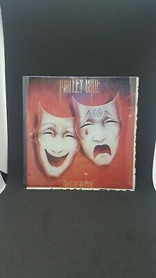 "Vintage 1985 Motley Crue Theatre of Pain  Carnival Glass Prize  (6"" x 6"")"