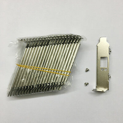 20pcs LOW PROFILE BRACKET FOR MNPA19-XTR MELLANOX CONNECTX-2 RT8N1 NETWORK CARD