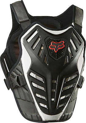 Fox Racing Titan Race Subframe CE Roost Protector Black/Silver