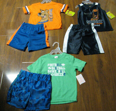6 Piece Lot of Baby Boys Spring Summer Clothes Size 18 Months NWT 18M New
