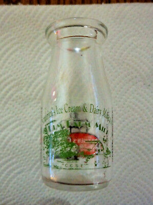 Half Pint Milk Bottle DIVCO Midwest Milkmen's Convention Medina, OH  2003