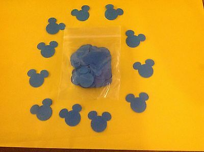 1x Pack Of Blue Mickey Mouse Confetti For Disney Wedding Buy 2 pack Get 1 free