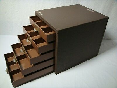 Vintage Kennedy Kits Steel 5 Drawer Machinist Tool Chest All Original Model 5D