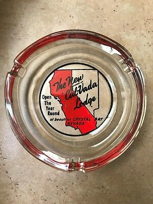 Vintage Casino Ashtray The New Cal-Neva Lodge Crystal Bay Nevada