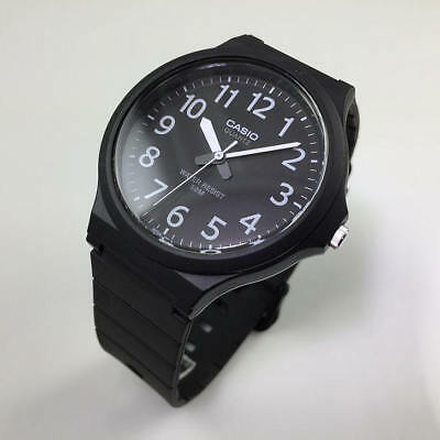 Men's Casio Easy To Read Casual Black Watch MW240-1BV