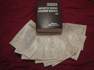 1995 nissan 240sx wiring diagrams schematics set