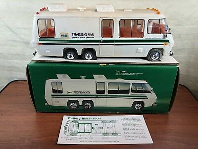 Vintage 1978 1979 1980 Hess Truck Training Van In The Original Box