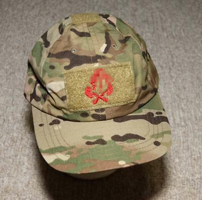 716f093b44d AUTHENTIC SEAL DEVGRU ST6 Red Squadron Tribe Crye Multicam Shooter Cap Hat  - £47.56