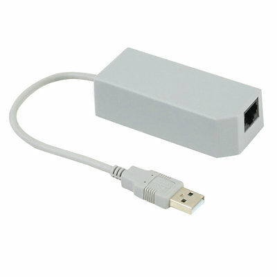 LAN Network Adapter Connector USB Internet Ethernet For Nintendo Wii/Wii U/PC AU