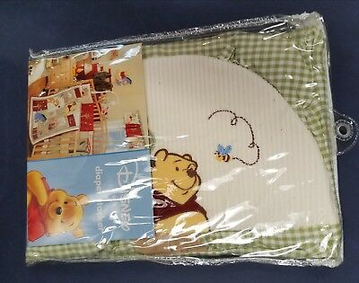NEW NIP DISNEY BABY WINNIE the POOH GREEN GINGHAM DIAPER STACKER * Sweet Moments