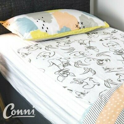 Conni Kids Reusable Bed Pad Aussie Animals Conni