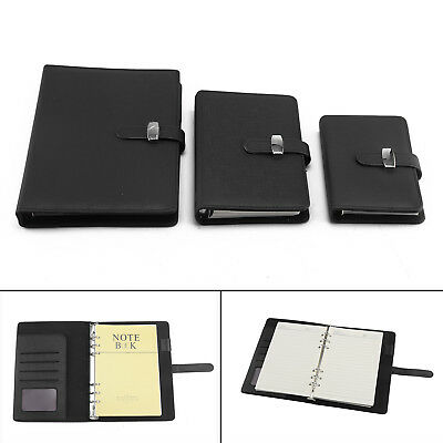 3 Size Diary Notebook Personal Pocket Organiser Planner PU Leather Cover UK