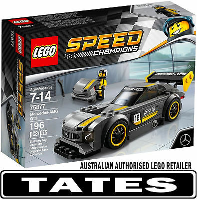 LEGO 75877 Mercedes Amg Gt3 Speed Champions from Tates Toyworld