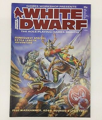 White Dwarf Magazine Issue No 85 Games Workshop Warhammer D&D Tsr January 1987