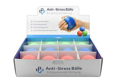 Antistressball 12er Display Anti Stressball Stressbälle Knetball Wutball Ball