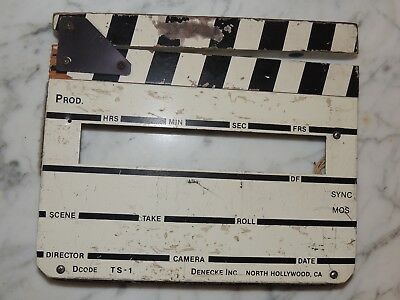 Denecke TS-1 Time Code Slate Face Black & White sticks Vintage No electronics