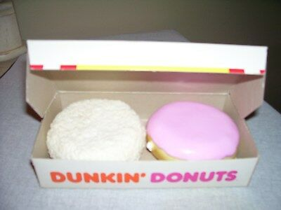 Vintage Dunkin' Donuts Play Food Toy ~ Box Of 2