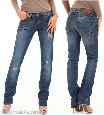 JEANS DONNA PANTALONI BRAY STEVE ALAN Made in Italy A612 Tg 25 - EUR ... 0454e15aba0