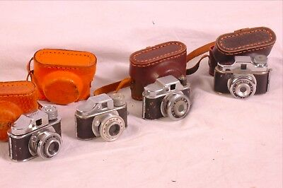 HIT mini camera selection 4 total with cases