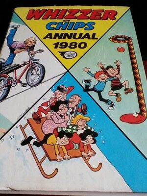 Whizzer and Chips Annual 1980  (Fleetway) - Good condition