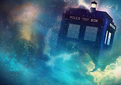 Art Print Poster / Canvas Dr Who Space Tardis #7